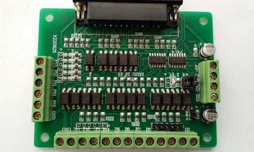 برد کنترل CNC محور 6