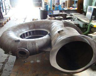 خدمات فرز CNC دروازه ای تا 6 متر