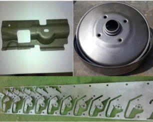 خدمات وایرکات، فرز CNC و قالبسازی