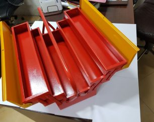 جعبه ابزار فلزی در سایزهای مختلف با بهترین کیفیت