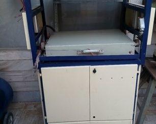 دستگاه وکیوم فرمینگ ، نیمه اتوماتیک