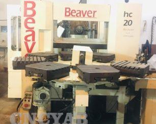 فرز 4 محور سنتر افقی 8 پالته BEAVER HC 20 CNC