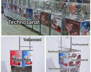 فریزر فالوده و یخ در بهشت در لیتراژ مختلف (تکنوصنعت)