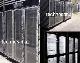 یخچال سه درب و شش درب ویترینی تکنوصنعت