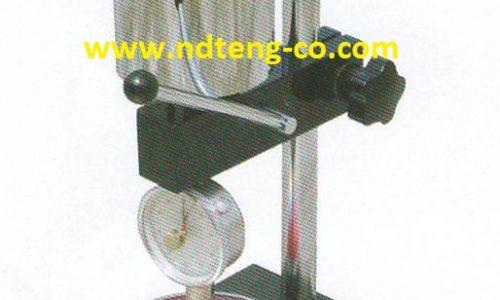 پایه سختی سنج لاستیک   پایه سختی سنج پلاستیک