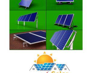 فروش و عرضه انواع استراکچر خورشیدی تکسا