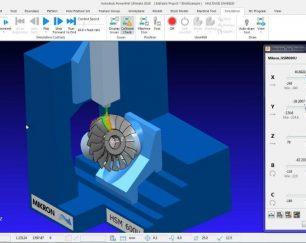 آموزش برنامه نویسی CNC پنج محور