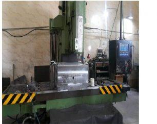 دستگاه فرز CNC سالم و در حال کار