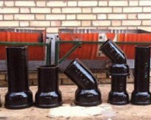 تولید کننده لوله و اتصالات فاضلابی چدنی