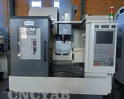 فرز آکبند 5 محور همزمان YCM FX 380 A CNC